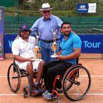 Robinson Méndez tuvo un gran regreso al círcuito ITF en Ecuador