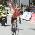 Patricio Almonacid ganó la quinta etapa de la Vuelta Ciclista Internacional del Maule