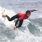 Roberto Araki avanzó a cuartos de final en última fecha del Latinoamericano de Surf