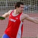 Jose Miguel Ballivian sumó el segundo oro chileno en el Sudamericano de Atletismo Menores