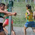 Con record nacional de lanzamiento de martillo arrancó el Nacional de Atletismo Cadetes y Menores