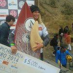 "Dax McGill se adjudicó el torneo de surf ""Maui And Sons Woman Pichilemu Pro"""