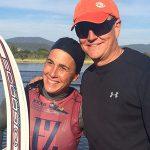María Paz Gallardo se coronó campeona latinoamericana de esquí náutico