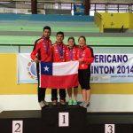 Cristian Araya se coronó campeón sudamericano adulto de badminton