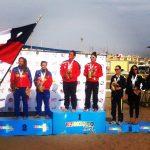 María Paz Orellana y Francisca Zuñiga logran primer oro chileno en los Juegos Bolivarianos de Playa