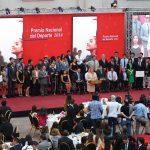 Presidenta de la República encabezó la Gala del Deporte Chileno 2014