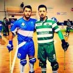 Nicolás Fernández ganó el duelo de chilenos en la liga portuguesa de hockey patín
