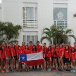 Chile cerró una gran actuación en el Sudamericano de Atletismo Menores