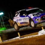 Tomás Etcheverry se impuso en el Motorshow del Rally Mobil