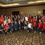 Deportistas chilenas se reunieron en el Ministerio para dialogar sobre igualdad de género
