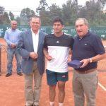 Bastián Malla se coronó campeón del Futuro Chile 11