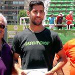 Hans Podlipnik se coronó campeón del Futuro Chile 12