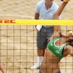 Chile brilló en primer día de competencia de la Continental Cup de Volleyball Playa