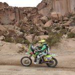 Cristóbal Guldman se acerca a su objetivo de finalizar el Dakar 2015