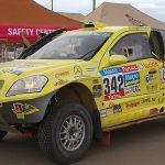 Rodrigo Moreno fue el mejor chileno en autos de la novena etapa del Dakar