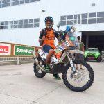 Pablo Quintanilla pasó sin problemas la revisión técnica del Dakar