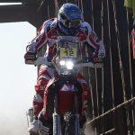 Jeremías Israel fue el mejor chileno en motos por la segunda etapa del Rally Dakar 2015