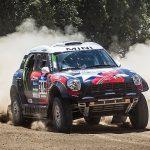 Boris Garafulic sigue avanzando en la competencia de autos del Dakar
