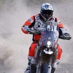 Pablo Quintanilla se quedó con el tercer lugar en motos de la cuarta etapa del Dakar