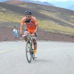 Gonzalo Aravena fue el mejor en ascenso al Volcán Osorno en Vuelta de la Leche