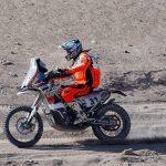 Pablo Quintanilla se coronó como el mejor chileno en motos del Dakar 2015