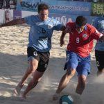 Chile debutó con un triunfo ante Uruguay en cuadrangular de Fútbol Playa de Viña del Mar