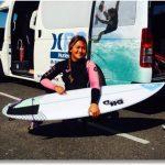 Surfista Adela Recordón buscará quedarse con el título del Quiksilver&Roxy Summer Jam