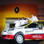 Renault se potencia con Carlo de Gavardo y Cristóbal Ibarra para el RallyMobil 2015