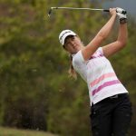 Paz Echeverría se ubica en la posición 77 del Coates Golf Championship