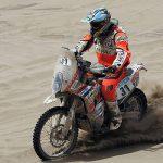 Pablo Quintanilla bajó al octavo lugar de la general en el Dakar 2016
