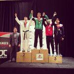 Tres medallas obtuvo Chile en el Canadá Open Taekwondo 2015