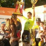 Cristopher Mansilla se adjudicó la séptima etapa del Doble Bragado 2015
