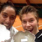 Daniela Seguel se coronó campeona de dobles en torneo italiano