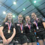 Chile obtuvo 4 medallas en el Sudamericano Infantil-Juvenil de Tenis de Mesa