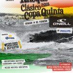 Este 14 de febrero se realizará la cuarta fecha de la Copa Quinta de Surf