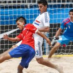 Chile cayó ante Paraguay por la tercera fecha de la Copa Sudamericana de Fútbol Playa