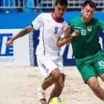 Chile derrotó a Bolivia y mantiene su opción en el Sudamericano de Fútbol Playa