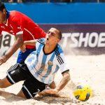 Chile remató en el cuarto lugar de la Copa Sudamericana de Fútbol Playa
