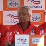 Nicolás Massú entregará este martes la nómina para la serie de Copa Davis ante Perú