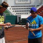 Equipo chileno de Copa Davis comenzó su preparación para la serie ante Perú