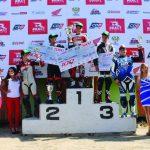 Vicente Kruger se coronó campeón de las 100 millas internacionales de Supermotard