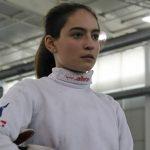 Analía Fernández logró el octavo lugar en el Panamericano Juvenil y Cadete de Esgrima
