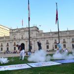 En la Plaza de la Constitución se realizó el lanzamiento del Chile Classic 2015