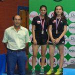Tenimesistas nacionales obtienen dos medallas en el Circuito Junior y Cadete de Paraguay