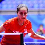 Paulina Vega y Felipe Olivares alcanzaron los cuartos de final del Latinoamericano de Tenis de Mesa