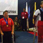 María Antonieta Ortíz gana medalla de oro en Nacional de Pesas Paralímpico de Colombia