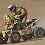 Ignacio Casale fue el ganador en quads del Rally de los Valles