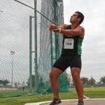 Humberto Mansilla logra nuevo récord chileno adulto de lanzamiento de martillo
