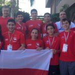 Selección Chilena de Racquetball busca los pasajes a Toronto 2015 en República Dominicana