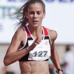 Isidora Jiménez fue una de las figuras del Nacional de Atletismo en Santiago